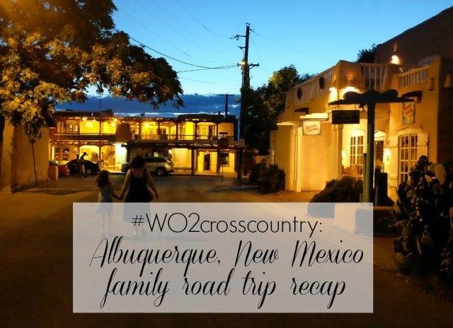 Wardrobe Oxygen family road trip to Albuquerque New Mexico