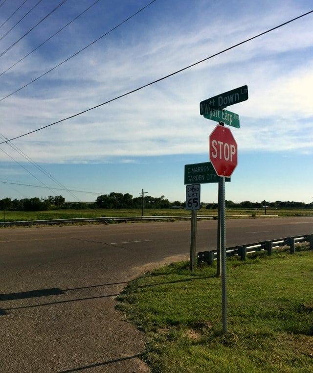 Wyatt Earp Blvd Dodge City Kansas