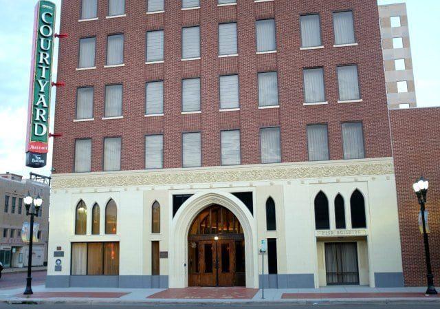 amarillo fisk building courtyard marriott hotel