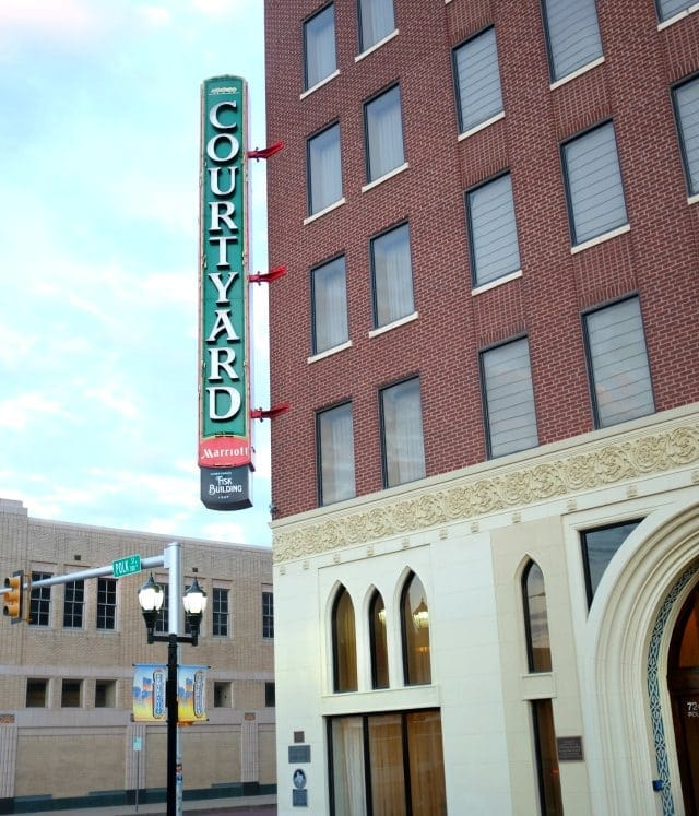 courtyard by marriott downtown amarillo texas review