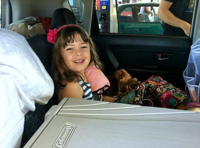 cross-country road trip car ride what to pack kids