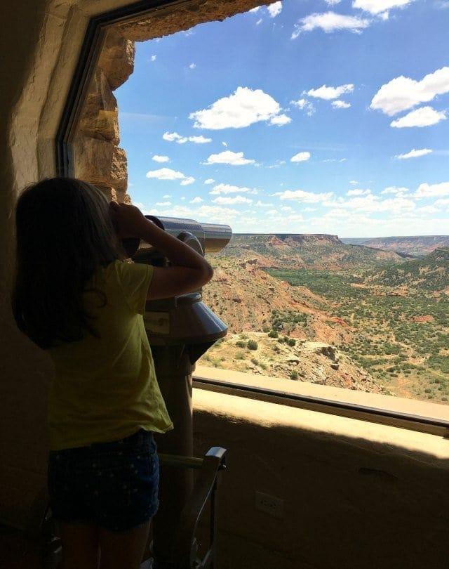 emerson at palo duro canyon visitors center