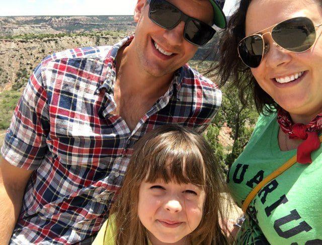 family at palo duro canyon