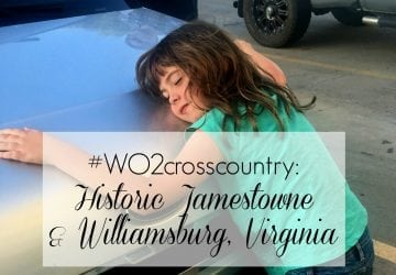Family Road Trip: Historic Jamestowne and Williamsburg, Virginia