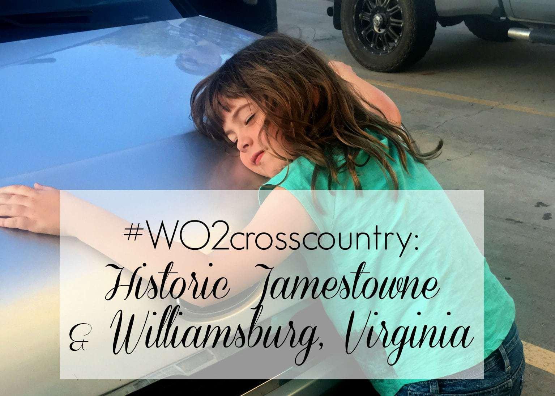 family road trip jamestowne williamsburg virginia