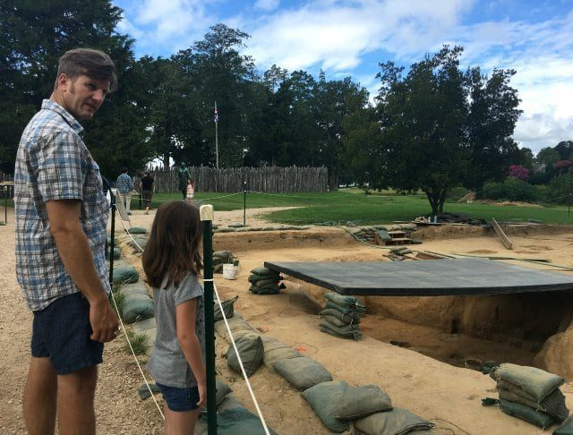 jamestowne excavation tour