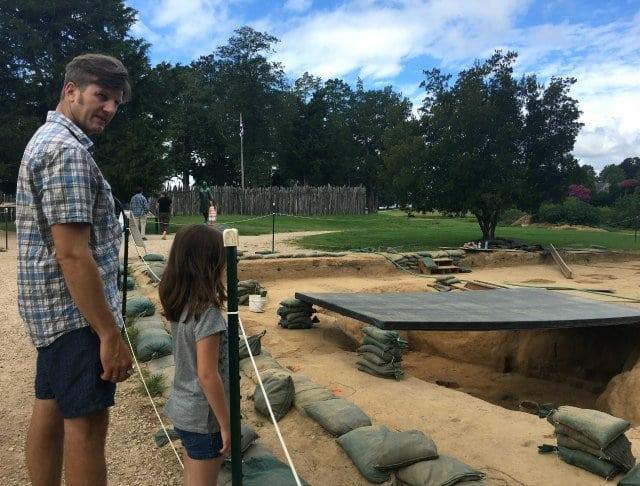 jamestowne excavation tour