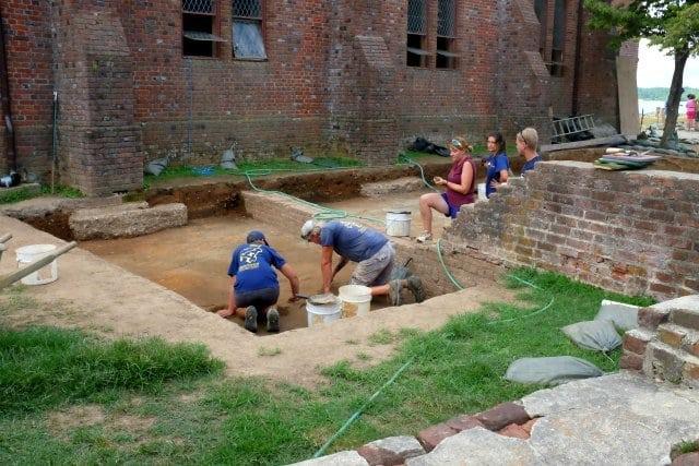 jamestowne excavation