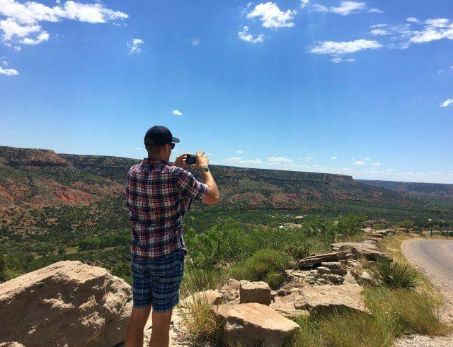 karl at palo duro canyon