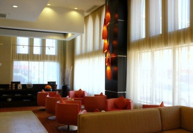 lobby at courtyard by marriott amarillo