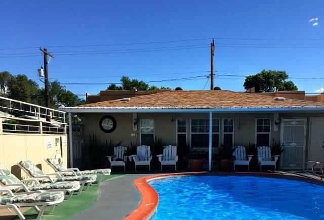 monterey non smokers motel albuquerque pool