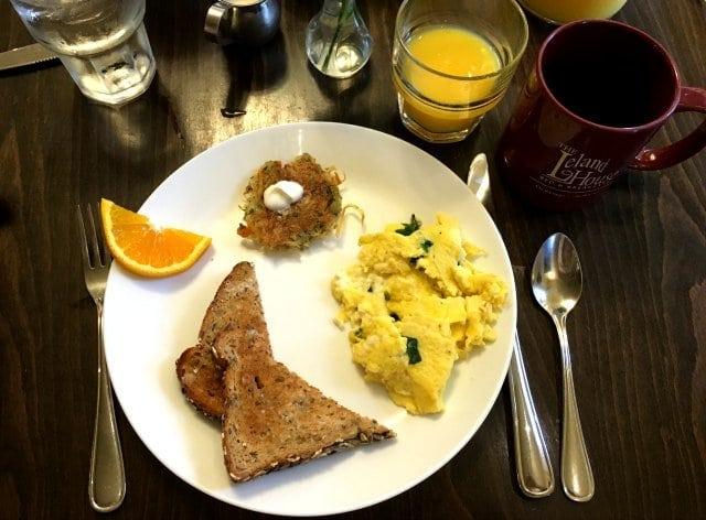 rochester hotel leland house breakfast