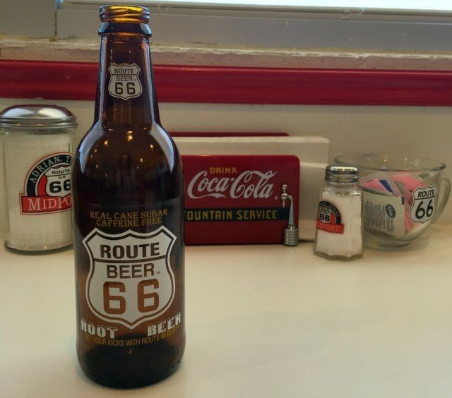 route 66 root beer midpoint cafe