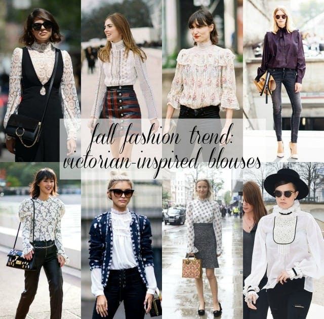 fall-fashion-trend-victorian-inspired-blouses-wardrobe-oxygen Wearable Trend for Fall: The Victorian Blouse