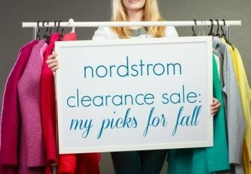 Nordstrom Clearance Sale: My Picks