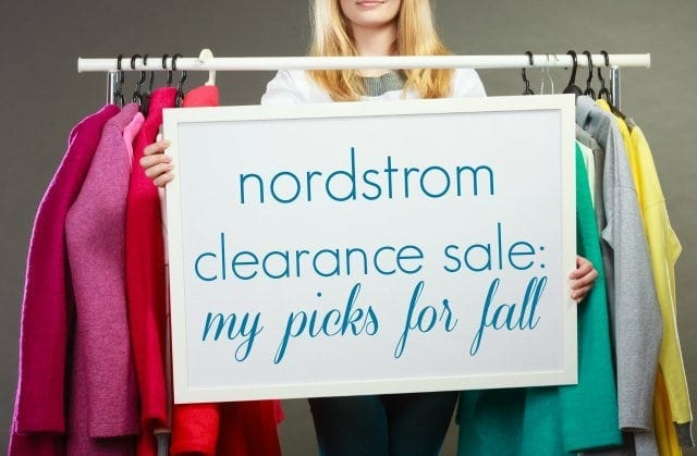 Nordstrom Clearance Sale - My Picks for Fall by Wardrobe Oxygen