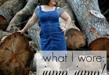 What I Wore: Jump Jump [Sponsored]