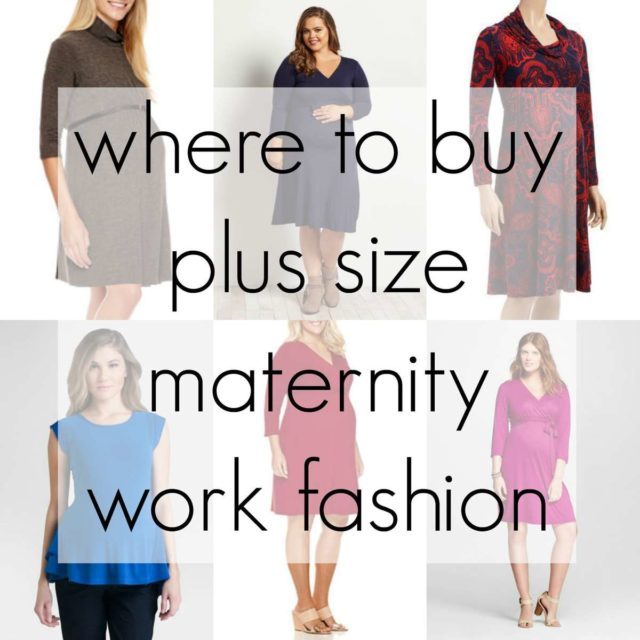 Where to Buy Plus Size Maternity Work Fashion - Wardrobe Oxygen