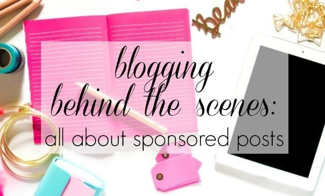 Blogging Behind the Scenes: All About Sponsored Posts by Wardrobe Oxygen