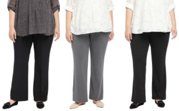 plus size maternity work pants - wardrobe oxygen