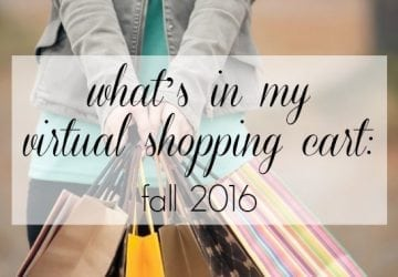 What's in My Virtual Shopping Carts
