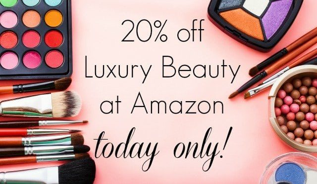 20% off Luxury Beauty at Amazon Today Only via Wardrobe Oxygen