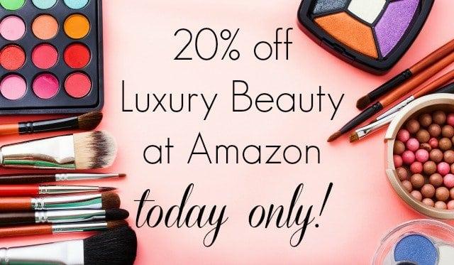 20% off Luxury Beauty at Amazon Today Only via Wardrobe Oxygen