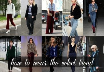 The Velvet Trend: How to Wear It without Looking Like a '90s Flashback [Sponsored]