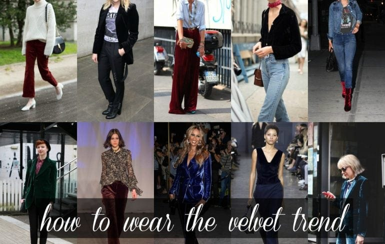 Wardrobe Oxygen: How to wear the velvet trend