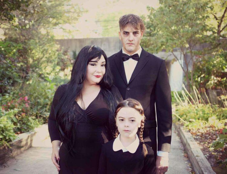 Wardrobe Oxygen Halloween 2016 as The Addams Family