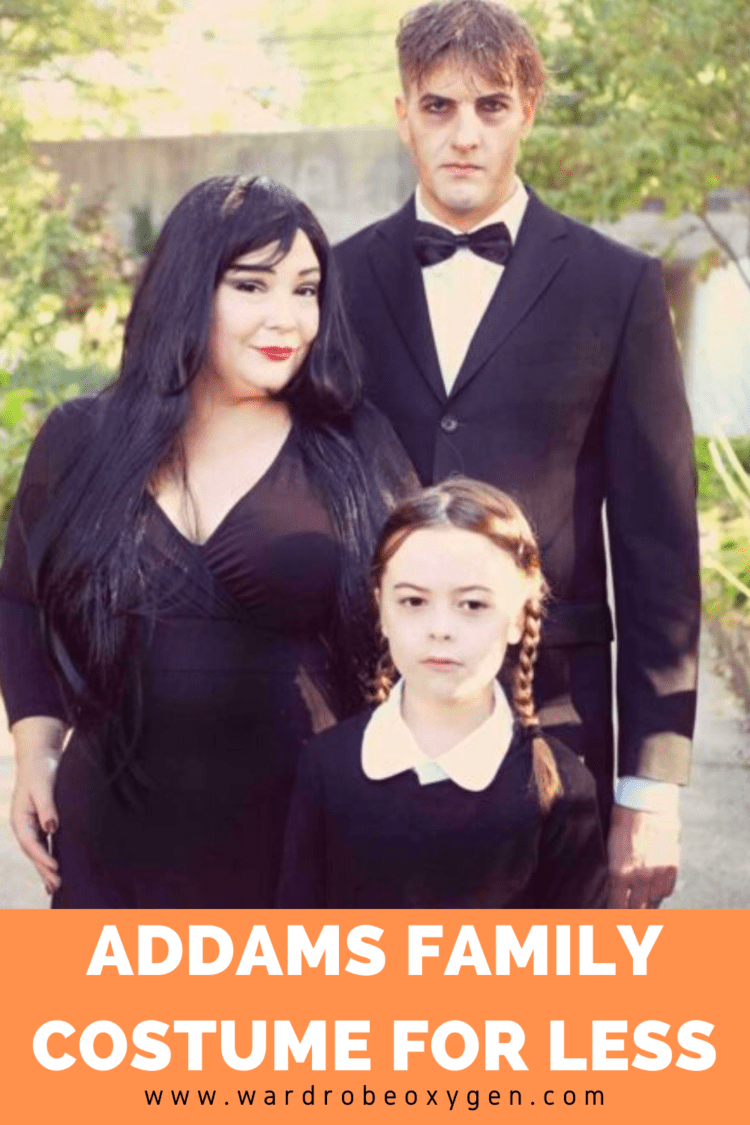 addams family costume for less