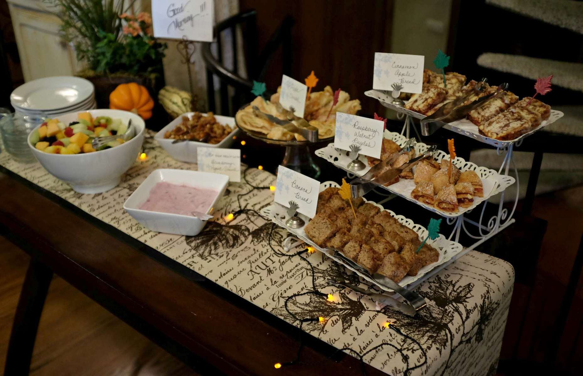Crooked Oak Mountain Inn Asheville Breakfast
