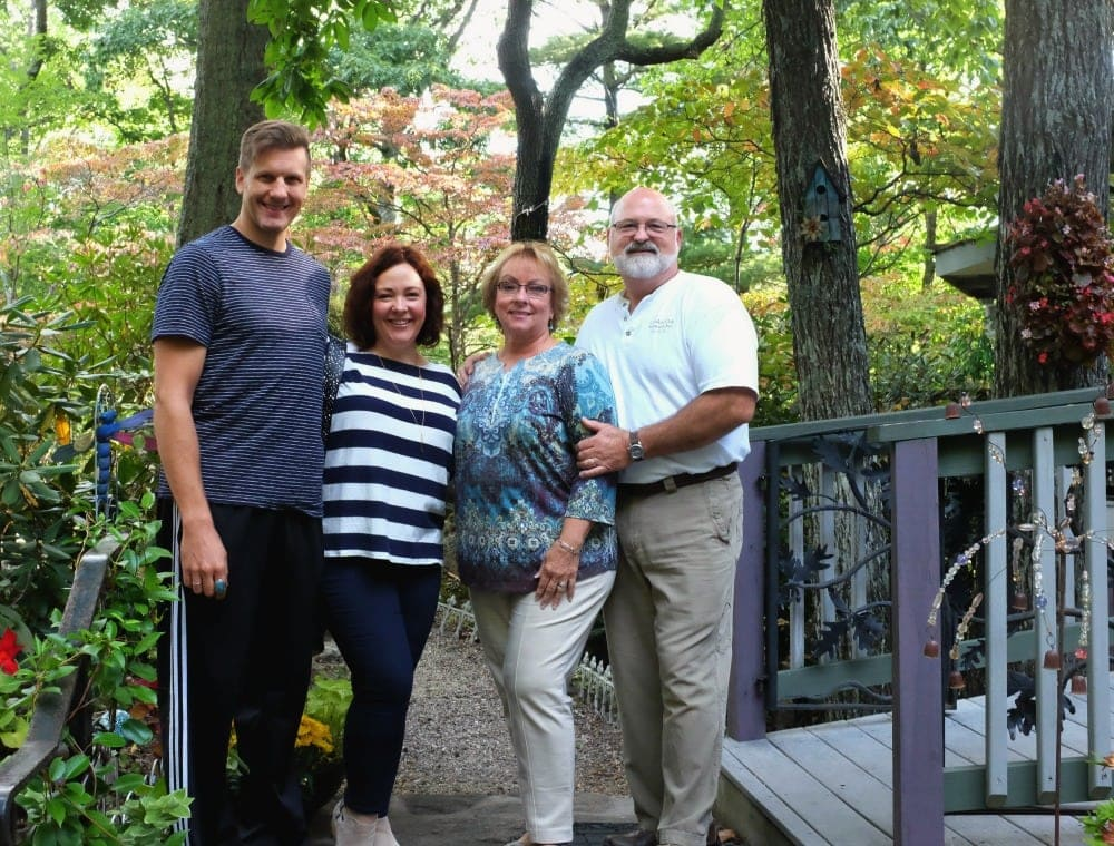 Wardrobe Oxygen with Patti and Bear from Crooked Oak Mountain Inn of Asheville, North Carolina