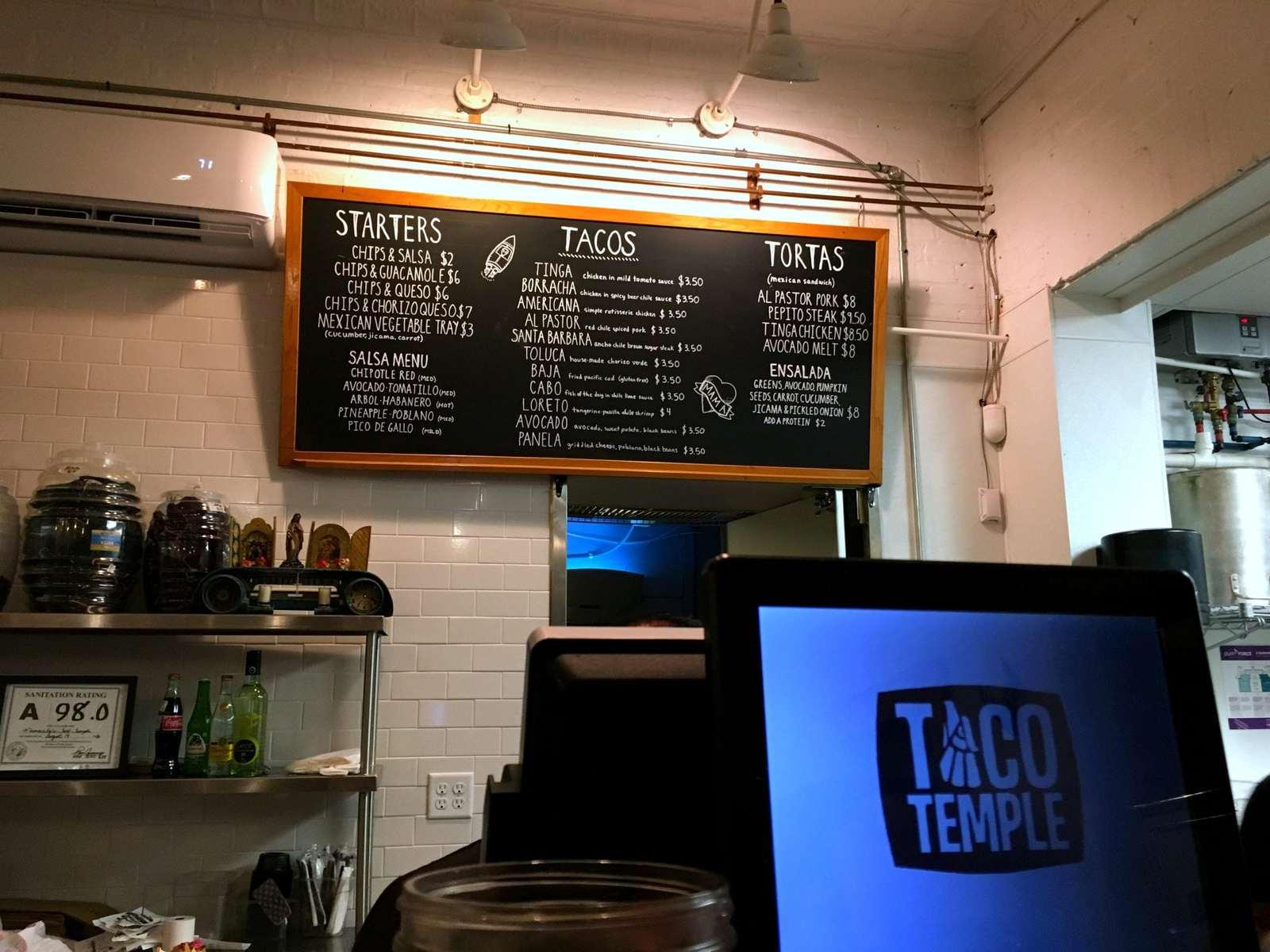 Taco Temple Asheville North Carolina