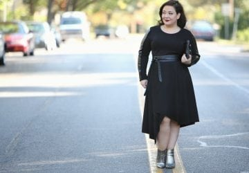 What I Wore: Luxe Leather