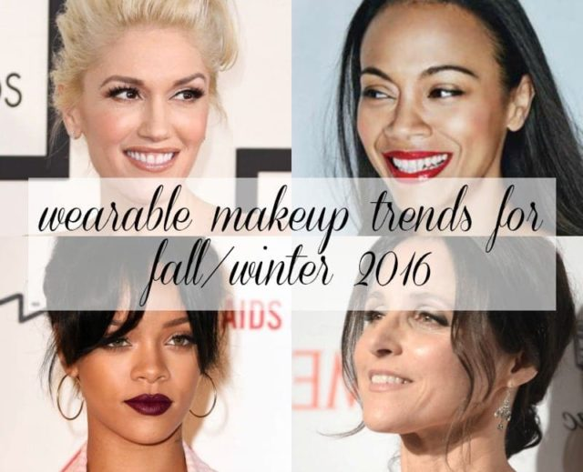 Wardrobe Oxygen: Wearable Makeup Trends for Fall and Winter 2016