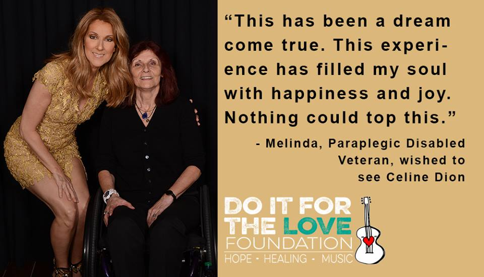 Do It for the Love Foundation - Celine Dion