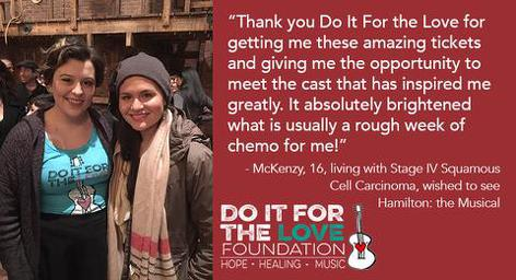 Do It For the Love Foundation - Hamilton the Musical