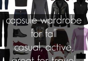 Capsule Wardrobe: Fall Casual / Travel