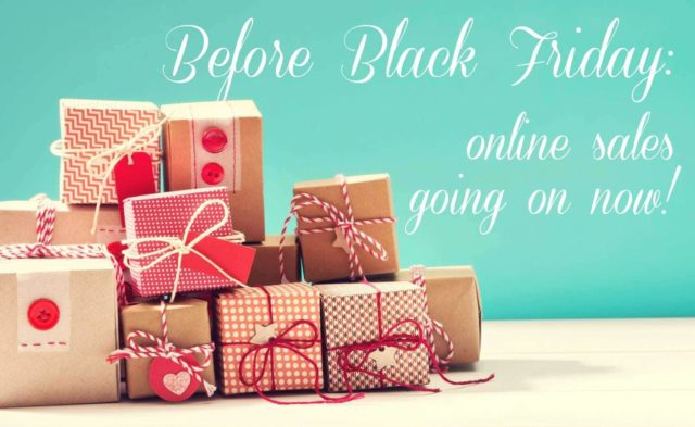 Before Black Friday: Sales and Promo Codes for Fashion and Beauty Deals before Thanksgiving