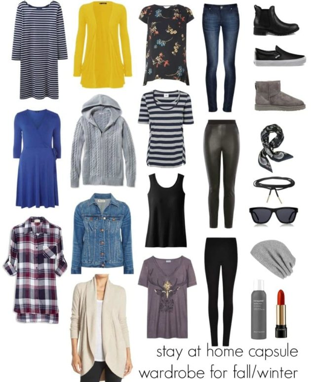 Wardrobe Oxygen: Stay at Home Mom Capsule Wardrobe for Fall and Winter