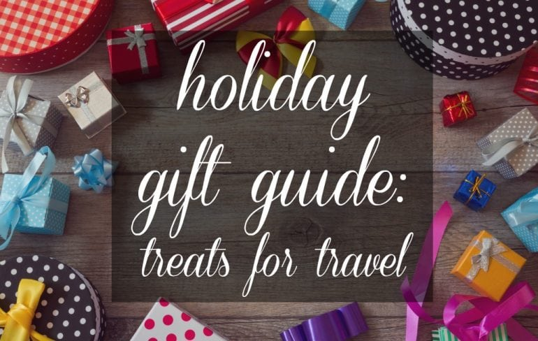 Travel Gift Guide - Wardrobe Oxygen