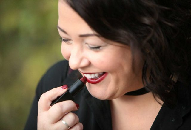 Wardrobe Oxygen. over 40 fashion blogger featuring Rebecca Minkoff Vanity bag and NARS Bette lipstick