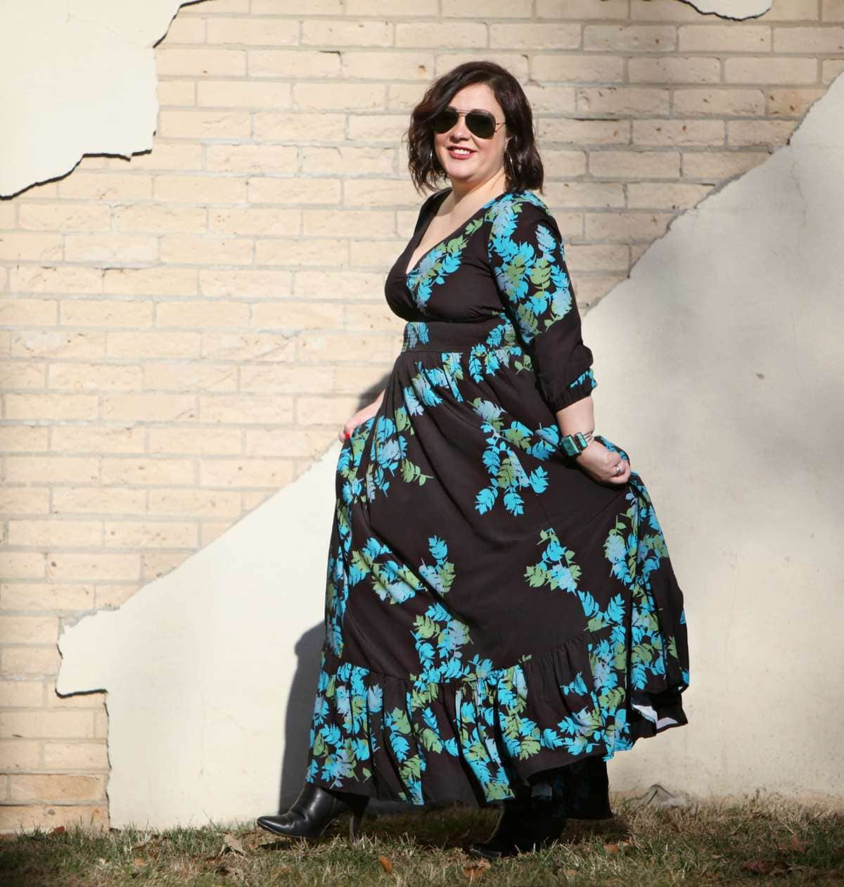 wardrobe oxygen eshakti maxi dress