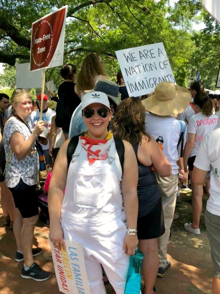 what to wear to a protest in the summer
