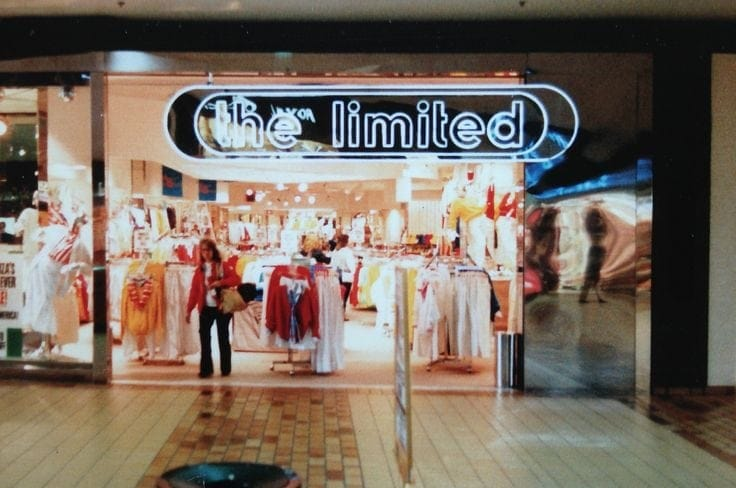 The Limited Storefront 1980s or 1990s