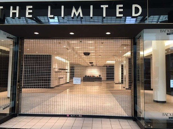 The Limited Stores Closing 2017