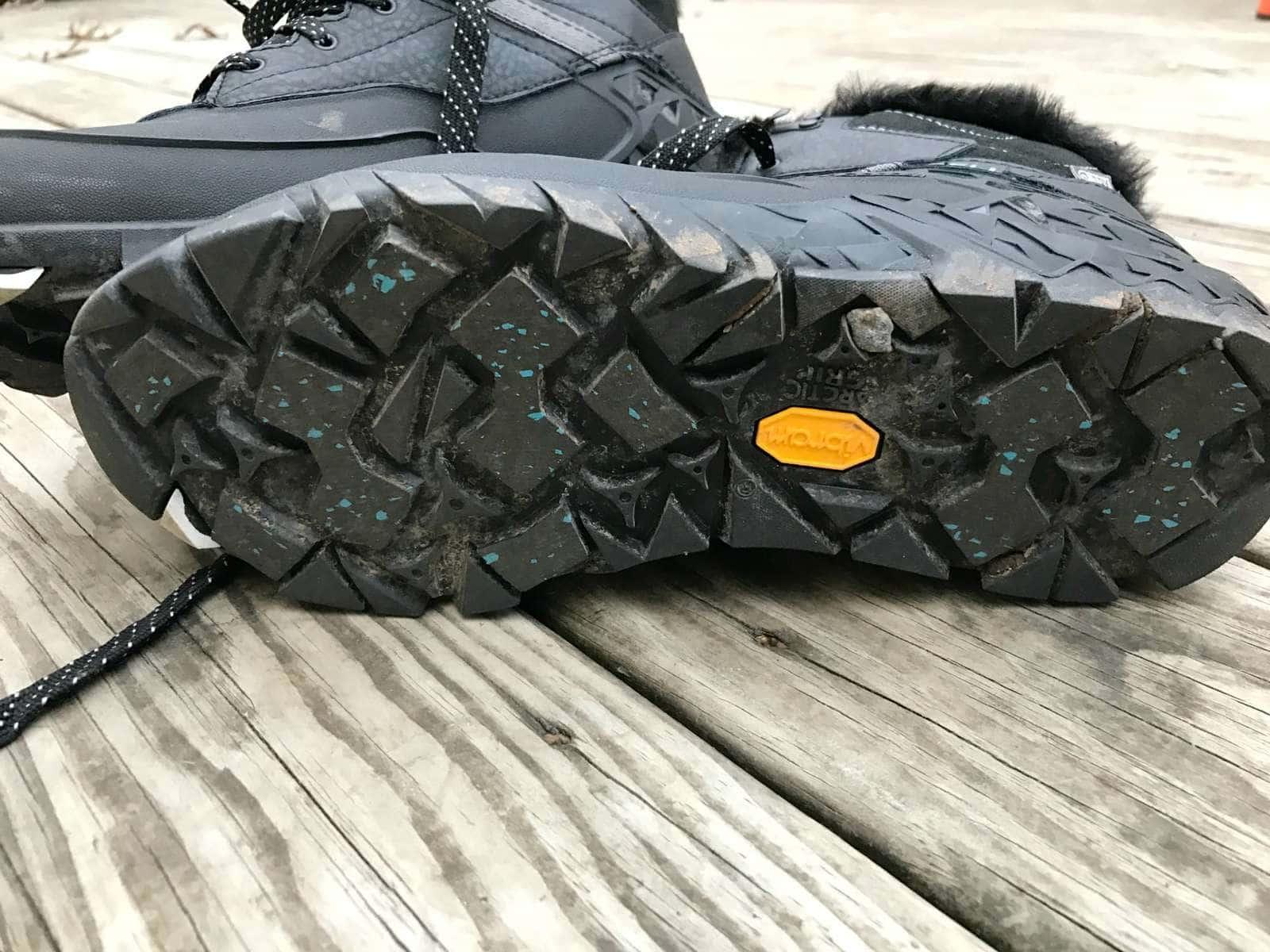 merrell arctic grip vibram waterproof boot