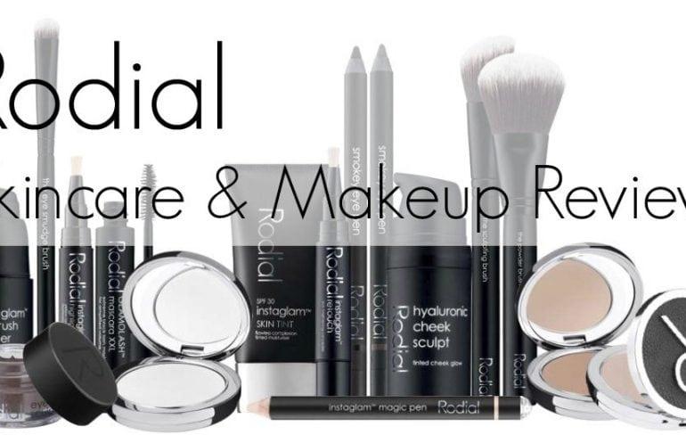 rodial skincare makeup review