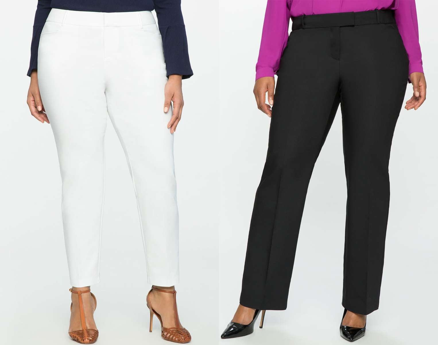 ELOQUII Kady Pant Review for Petites by Wardrobe Oxygen